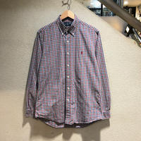 RALPH LAUREN / Plaid L/S Shirt size:M