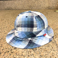 SUPREME / Summer Plaid Bell Hat 2014S/S size:S/M