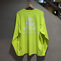 Nothin' Special  / Logo L/S Tee size:XL