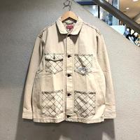 SUPREME / Diamond Stitch Denim Chore Coat 2018A/W
