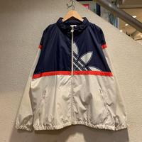 adidas / 80's Vintage Trefoil Windbreaker size:XL