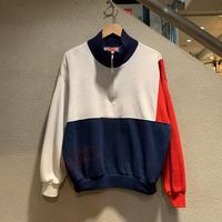 NIKE / 90's Vintage Half Zip Sweatshirt size:L