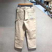 SUPREME / Diamond Stitch Carpenter Jean 2018A/W