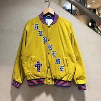SUPREME / Old English Corduroy Varsity Jacket 2018S/S size:M