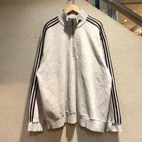 adidas / Quarter Zip Up Sweat Jersey size:2XL