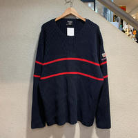 POLO JEANS / 90's Vintage Cotton Knit Sweater size:XXL