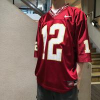 "NIKE / 90's Vintage Football Jersey ""Florida State Seminoles"" size:M"