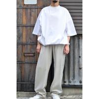 ビッグシルエットクルーネックTシャツ / WHITE
