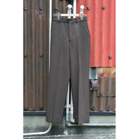 SurvivalCloth / Straight Fit Trousers / Top Brown