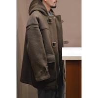 Melton Short Belted Duffle Coat