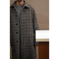 Tweed Shaggy  Mac Coat