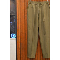 Super 120's Wool Tropical Pegtop Easy Trousers