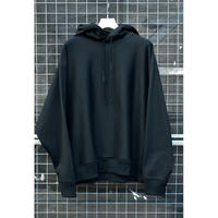 REVERS FLEECE HUGE PARKA / BLACK