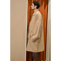 Houndtooth Single   Trench  Coat
