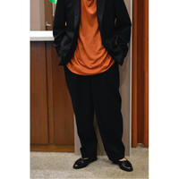 Wool Flannel / New Classic Fit Trousers