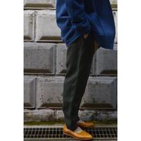 亜麻苧麻ロングパンツ  / 濃緑