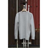 ウールセーター/灰