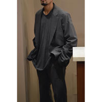 Cupro Gaberdine  /  Single Jacket