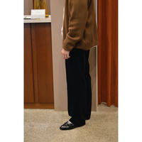 Corduroy /  Straight Fit Trousers