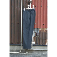 ORGANIC WOOL TROPICAL CLASSIC FIT TROUSERS / CHARCOAL