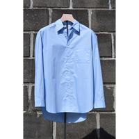 Poplin Regular Fit Shirts /Sax Blue