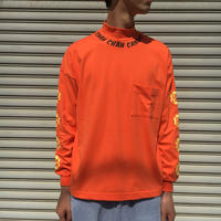 CC CANDY MOCKNECK LS TEE 【 CHAHCHAH 】