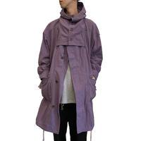 REVERSIBLE COAT <purple>【HOMELESS TAILOR】