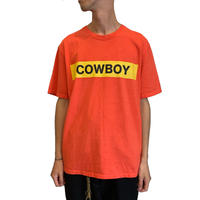 COWBOY S/S T-shirt <red>【ChahChah】