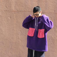 BOA MOCKNECK PULLOVER 【 CHAHCHAH 】