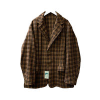 STEAL POCKET JACKET <brown> 【Homeless Tailor】