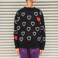 HEARTFULL HAND EMBRODERY KNIT 【 CHAHCHAH 】