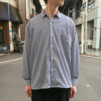 CLOUDY LS STRIPE SHIRTS 【 CURLY 】