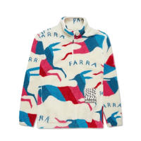 Jumping foxes Sherpa fleece 【by parra】