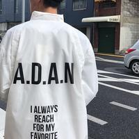 ADAN COACH JACKET 【A.D.A.N】【thinq】