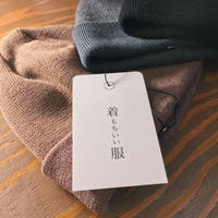 W FACE WOOL KNIT CAP 【 着もちいい服 】【 A.D.A.N 】