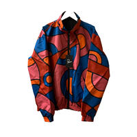 serpent pattern track top 【by parra】