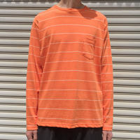 BORDER L/S 【 NECESSARYORUNNECESSARY 】