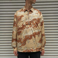 MA-HALF ZIP PUFF SHIRT 【 THINQ 】 【 A.D.A.N 】