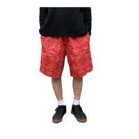 Chef Short Pants 「Paisley」【COOKMAN】