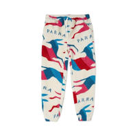Jumping foxes Sherpa fleece pants 【by parra】