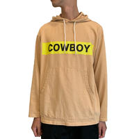 COWBOY Hooded L/S Tshirt <beige>【ChahChah】
