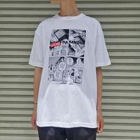 BOKU HA TANOSII × じゃりン子チエ / UCHI HA TANOSII Tシャツ 【 THE MONGOLIANCHOPPSSS 】