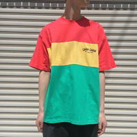 BIG RASTA PANEL T-SHIRTS 【 CHAHCHAH 】