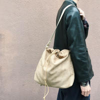 CLIFTON DRAWSTRING SHOULDER 【 CURLY 】