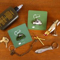 CAR10 × marimacho Wooden pins / VAN