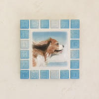 ブライトカラー/スカイブルー(M)◆Tile Picture Frame(M)/Bright Tone/SKY BLUE◆