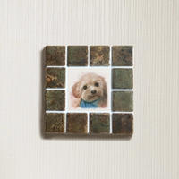 アンティークカラー/ラスティーシェナ(S)◆Tile Picture Frame(S)/Antique Tone/RUSTY SIENNA◆