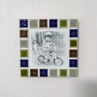 マットカラー/ボタニカル(M)◆Tile Picture Frame(M)/Botanical Tone◆