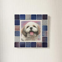 フォギーカラー/サンセットブルー(M)◆Tile Picture Frame(M)/Foggy Tone/SUNSET BLUE◆