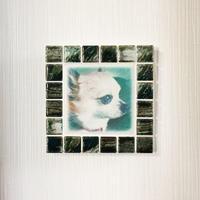アンティークカラー/グラッシーグリーン(M)◆Tile Picture Frame(M)/Antique Tone/GRASSY GREEN◆